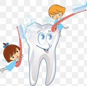 Elf Brush Teeth - Dentistry Toothbrush Clip Art PNG