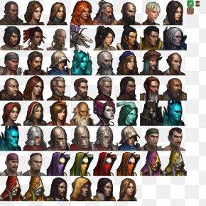 Diablo III Video Game Portrait Player Character PNG