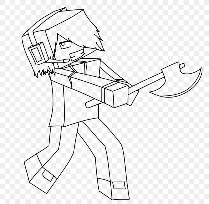 - Minecraft Coloring Book Drawing Enderman, PNG, 905x882px, Minecraft, Arm,  Artwork, Ausmalbild, Black Download Free