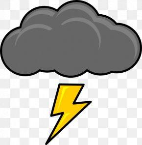 Pictures Of Lighting Bolts - Cloud Thunder Cumulonimbus Clip Art PNG