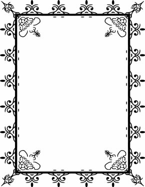 Free Photo Borders - Picture Frame Free Content Clip Art PNG