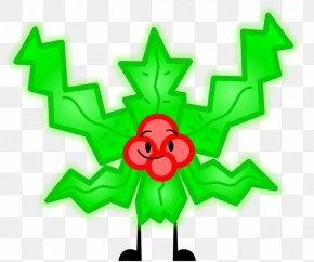 Mistletoe - Mistletoe Christmas Decoration Tree Art PNG
