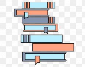 Vector Pile Of Books - Euclidean Vector Vecteur Vector Space PNG