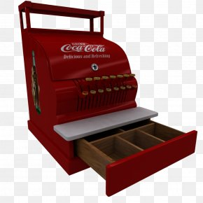 Cash Register - Coca-Cola Cash Register Pepsi PNG
