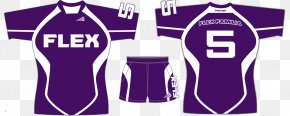 T-shirt - Jersey T-shirt Flag Football Rugby PNG