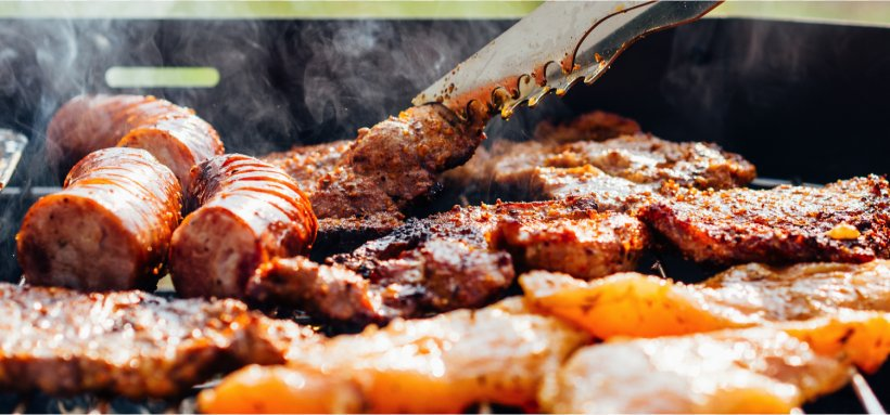 Barbecue Grill Coleslaw Grilling Meat Salad, PNG, 1500x701px, Barbecue Grill, Animal Source Foods, Barbecue, Barbecuesmoker, Bratwurst Download Free