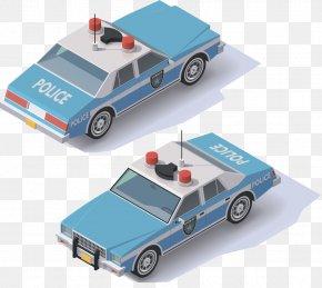 Hand-drawn Cartoon Cartoon Police Car - Police Car Royalty-free PNG