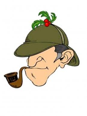 Sherlock Cliparts - Sherlock Holmes Doctor Watson Deerstalker Clip Art PNG
