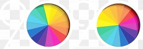 Colorfulness Yellow - Yellow Colorfulness Line Circle PNG