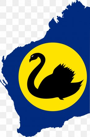 Swan - Flag Of Western Australia Northern Territory United States Flag Of Western Australia PNG