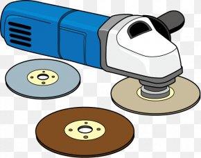 Power Tool - Hand Tool Grinding Machine Clip Art PNG