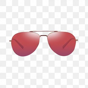 Red Sunglasses Ms. - Sunglasses Red PNG