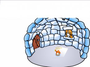 Lasso Pictures - Club Penguin Island Toontown Online Igloo PNG