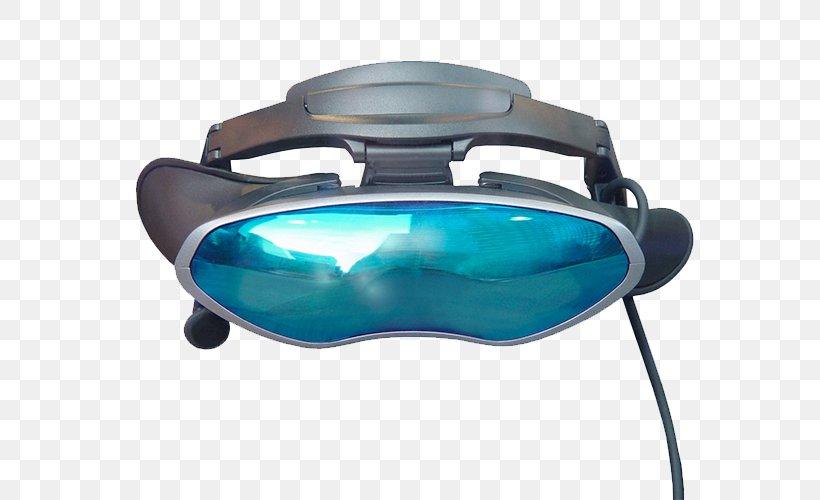 Goggles Virtual Reality, PNG, 700x500px, Goggles, Amana Holdings Inc, Aqua, Azure, Blue Download Free