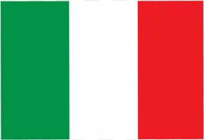 Italian Banner Cliparts - Flag Of Italy Clip Art PNG