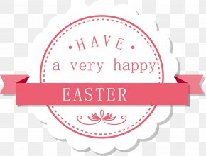 Easter Fresh Material - Label Paper Gift Party Birthday PNG