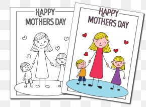 Mother's Day - Paper Mother's Day Child PNG