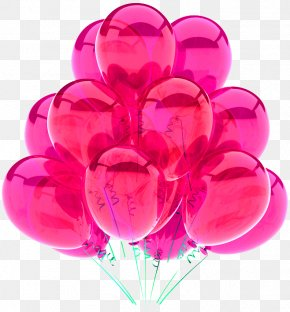 Pink Balloons - Balloon Blue Stock Photography Stock Illustration Royalty-free PNG