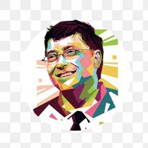Bill Gates - Bill Gates Portrait PNG