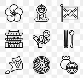 Korean Elements - Icon Design Graphic Design Clip Art PNG