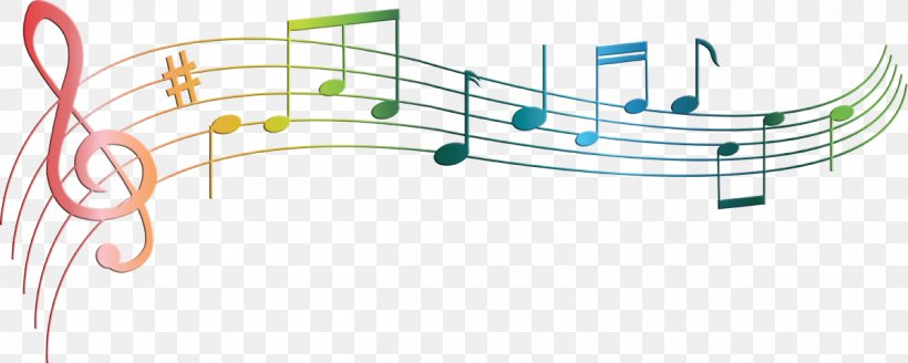 Musical Note Staff Musical Theatre, PNG, 1200x480px, Watercolor, Cartoon, Flower, Frame, Heart Download Free