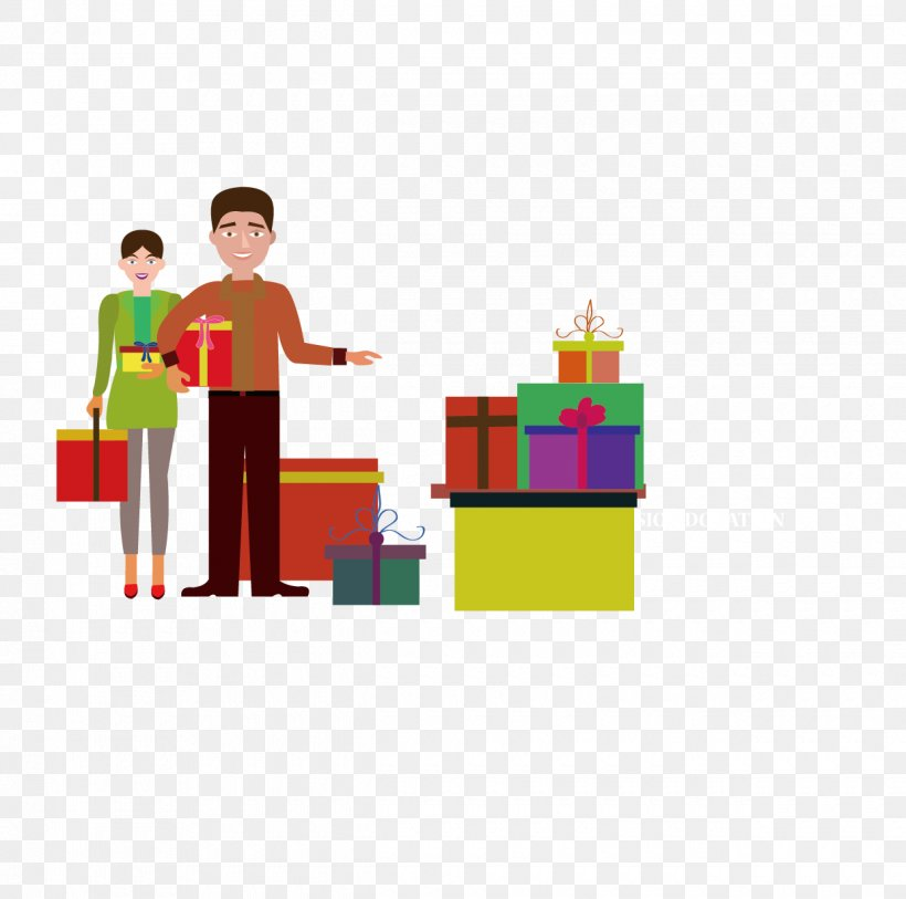Gift New Year, PNG, 1240x1230px, Gift, Area, Chinese New