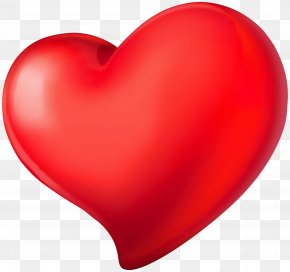 Heart Red Transparent PNG Clip Art Image - Red Heart Valentine's Day Design PNG