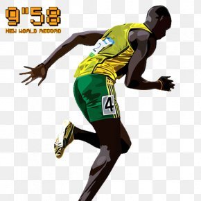 Usain Bolt - Nitro Athletics Olympic Games Sport PNG