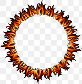 Cool Flame Ring - Ring Of Fire Light Flame PNG
