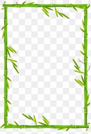 Bamboo Border - Bamboo PNG