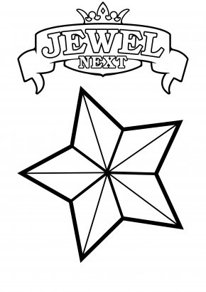 Shooting Star Coloring Pages - Coloring Book Ruby Child Star Gemstone PNG