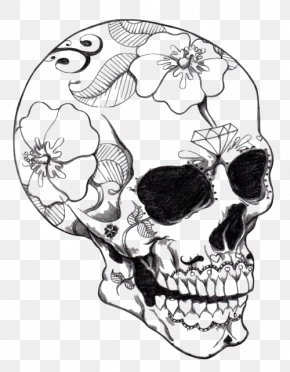 Skull - Calavera Coloring Book Skull Coloring Pages For Adults PNG