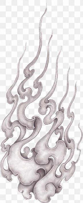Japanese Ink Wash Painting - Japanese Wood-block Prints Tree Drawing Pattern PNG