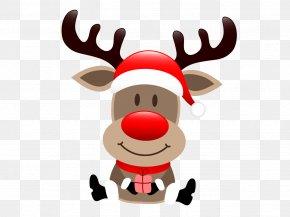 Vector Cartoon Reindeer - Rudolph Santa Claus's Reindeer Santa Claus's Reindeer Christmas PNG