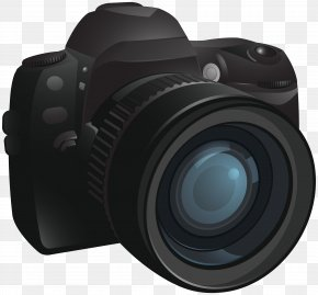 Camera Transparent Image - Digital SLR Camera PNG