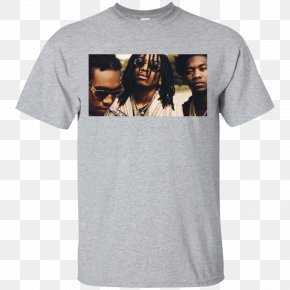 T-shirt - T-shirt Hoodie Top Gildan Activewear PNG