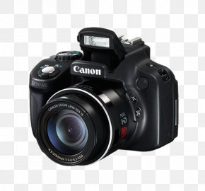 Camera - Canon PowerShot SX60 HS Canon PowerShot SX50 HS Canon PowerShot SX430 IS Point-and-shoot Camera PNG