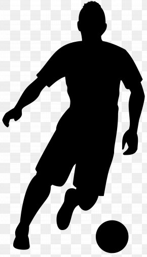 Football Player Silhouette Transparent Clip Art Image - American Football Football Player Silhouette Clip Art PNG
