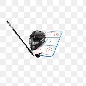 Hockey - Ice Hockey Stick Hockey Puck Hockey Field PNG