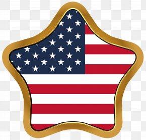 USA Flag Star Clip Art Image - Image File Formats Lossless Compression PNG