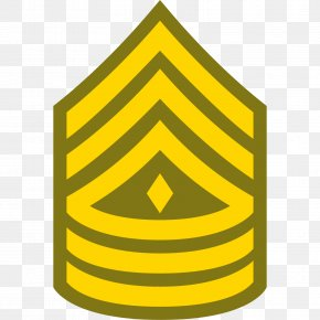 Armed Forces Rank - Sergeant Major Of The Army United States Army Enlisted Rank Insignia PNG
