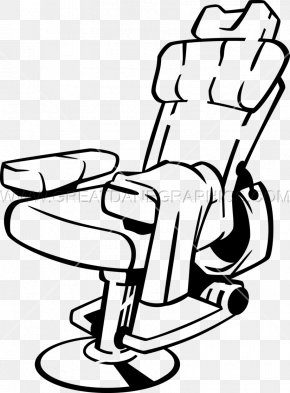 Barber Shop Artwork - Barber Chair Office & Desk Chairs Clip Art PNG