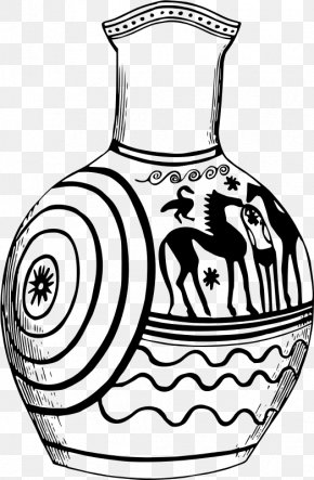 Greece - Pottery Of Ancient Greece Clip Art PNG
