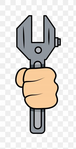 Hand Wrench Tool - Tool Wrench Cartoon PNG