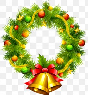 Garland - Wreath Vector Graphics Christmas Day Clip Art Christmas PNG