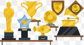 Trophy Vector Free Download - Carassius Auratus Download Euclidean Vector Trophy PNG