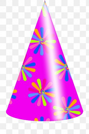 Picture Of Party Hat - Party Hat Free Content Clip Art PNG