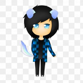 Doggy Style - Black Hair Character Microsoft Azure Clip Art PNG