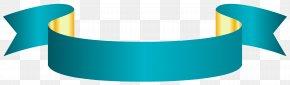 Blue Banner Transparent Clip Art Image - Clip Art PNG