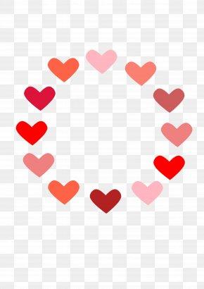 LOVE - Love Heart Valentine's Day Clip Art PNG